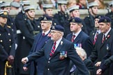 Remembrance Sunday at the Cenotaph 2015: Group B26, 16/5th Queen's Royal Lancers. Cenotaph, Whitehall, London SW1, London, Greater London, United Kingdom, on 08 November 2015 at 11:41, image #205