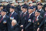 Remembrance Sunday at the Cenotaph 2015: Group B26, 16/5th Queen's Royal Lancers. Cenotaph, Whitehall, London SW1, London, Greater London, United Kingdom, on 08 November 2015 at 11:41, image #206