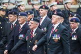 Remembrance Sunday at the Cenotaph 2015: Group B26, 16/5th Queen's Royal Lancers. Cenotaph, Whitehall, London SW1, London, Greater London, United Kingdom, on 08 November 2015 at 11:41, image #207