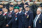 Remembrance Sunday at the Cenotaph 2015: Group B26, 16/5th Queen's Royal Lancers. Cenotaph, Whitehall, London SW1, London, Greater London, United Kingdom, on 08 November 2015 at 11:41, image #209
