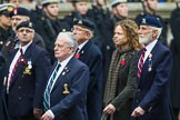 Remembrance Sunday at the Cenotaph 2015: Group B26, 16/5th Queen's Royal Lancers. Cenotaph, Whitehall, London SW1, London, Greater London, United Kingdom, on 08 November 2015 at 11:41, image #210