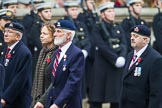 Remembrance Sunday at the Cenotaph 2015: Group B26, 16/5th Queen's Royal Lancers. Cenotaph, Whitehall, London SW1, London, Greater London, United Kingdom, on 08 November 2015 at 11:41, image #211