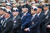 Remembrance Sunday at the Cenotaph 2015: Group B27, 17/21 Lancers. Cenotaph, Whitehall, London SW1, London, Greater London, United Kingdom, on 08 November 2015 at 11:42, image #217