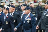 Remembrance Sunday at the Cenotaph 2015: Group B28, The Royal Lancers (New for 2015). Cenotaph, Whitehall, London SW1, London, Greater London, United Kingdom, on 08 November 2015 at 11:42, image #218