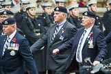 Remembrance Sunday at the Cenotaph 2015: Group B27, 17/21 Lancers. Cenotaph, Whitehall, London SW1, London, Greater London, United Kingdom, on 08 November 2015 at 11:42, image #219