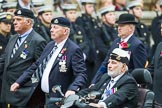 Remembrance Sunday at the Cenotaph 2015: Group B28, The Royal Lancers (New for 2015). Cenotaph, Whitehall, London SW1, London, Greater London, United Kingdom, on 08 November 2015 at 11:42, image #220