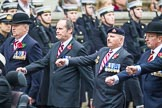 Remembrance Sunday at the Cenotaph 2015: Group B28, The Royal Lancers (New for 2015). Cenotaph, Whitehall, London SW1, London, Greater London, United Kingdom, on 08 November 2015 at 11:42, image #221