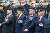 Remembrance Sunday at the Cenotaph 2015: Group B28, The Royal Lancers (New for 2015). Cenotaph, Whitehall, London SW1, London, Greater London, United Kingdom, on 08 November 2015 at 11:42, image #223