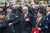 Remembrance Sunday at the Cenotaph 2015: Group B28, JLR RAC Old Boys' Association. Cenotaph, Whitehall, London SW1, London, Greater London, United Kingdom, on 08 November 2015 at 11:42, image #225