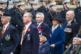 Remembrance Sunday at the Cenotaph 2015: Group B30, Association of Ammunition Technicians. Cenotaph, Whitehall, London SW1, London, Greater London, United Kingdom, on 08 November 2015 at 11:42, image #229
