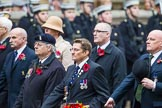 Remembrance Sunday at the Cenotaph 2015: Group B30, Association of Ammunition Technicians. Cenotaph, Whitehall, London SW1, London, Greater London, United Kingdom, on 08 November 2015 at 11:42, image #235