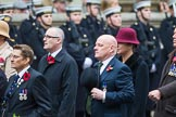 Remembrance Sunday at the Cenotaph 2015: Group B30, Association of Ammunition Technicians. Cenotaph, Whitehall, London SW1, London, Greater London, United Kingdom, on 08 November 2015 at 11:42, image #236