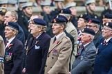 Remembrance Sunday at the Cenotaph 2015: Group B31, Beachley Old Boys Association. Cenotaph, Whitehall, London SW1, London, Greater London, United Kingdom, on 08 November 2015 at 11:42, image #242