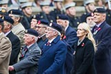 Remembrance Sunday at the Cenotaph 2015: Group B31, Beachley Old Boys Association. Cenotaph, Whitehall, London SW1, London, Greater London, United Kingdom, on 08 November 2015 at 11:42, image #243