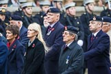 Remembrance Sunday at the Cenotaph 2015: Group B31, Beachley Old Boys Association. Cenotaph, Whitehall, London SW1, London, Greater London, United Kingdom, on 08 November 2015 at 11:42, image #244