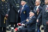 Remembrance Sunday at the Cenotaph 2015: Group B32, Arborfield Old Boys Association. Cenotaph, Whitehall, London SW1, London, Greater London, United Kingdom, on 08 November 2015 at 11:42, image #249