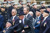 Remembrance Sunday at the Cenotaph 2015: Group B32, Arborfield Old Boys Association. Cenotaph, Whitehall, London SW1, London, Greater London, United Kingdom, on 08 November 2015 at 11:42, image #250