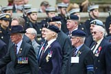 Remembrance Sunday at the Cenotaph 2015: Group B32, Arborfield Old Boys Association. Cenotaph, Whitehall, London SW1, London, Greater London, United Kingdom, on 08 November 2015 at 11:42, image #251