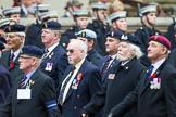 Remembrance Sunday at the Cenotaph 2015: Group B32, Arborfield Old Boys Association. Cenotaph, Whitehall, London SW1, London, Greater London, United Kingdom, on 08 November 2015 at 11:42, image #252