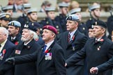 Remembrance Sunday at the Cenotaph 2015: Group B32, Arborfield Old Boys Association. Cenotaph, Whitehall, London SW1, London, Greater London, United Kingdom, on 08 November 2015 at 11:42, image #253