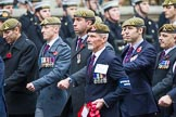 Remembrance Sunday at the Cenotaph 2015: Group B34, Special Observers Association. Cenotaph, Whitehall, London SW1, London, Greater London, United Kingdom, on 08 November 2015 at 11:43, image #258