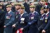 Remembrance Sunday at the Cenotaph 2015: Group B34, Special Observers Association. Cenotaph, Whitehall, London SW1, London, Greater London, United Kingdom, on 08 November 2015 at 11:43, image #259