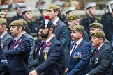 Remembrance Sunday at the Cenotaph 2015: Group B34, Special Observers Association. Cenotaph, Whitehall, London SW1, London, Greater London, United Kingdom, on 08 November 2015 at 11:43, image #260