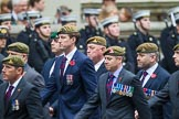 Remembrance Sunday at the Cenotaph 2015: Group B34, Special Observers Association. Cenotaph, Whitehall, London SW1, London, Greater London, United Kingdom, on 08 November 2015 at 11:43, image #262