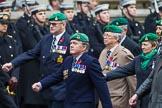 Remembrance Sunday at the Cenotaph 2015: Group B36, Intelligence Corps Association. Cenotaph, Whitehall, London SW1, London, Greater London, United Kingdom, on 08 November 2015 at 11:43, image #271