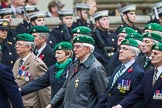 Remembrance Sunday at the Cenotaph 2015: Group B36, Intelligence Corps Association. Cenotaph, Whitehall, London SW1, London, Greater London, United Kingdom, on 08 November 2015 at 11:43, image #272