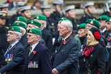 Remembrance Sunday at the Cenotaph 2015: Group B36, Intelligence Corps Association. Cenotaph, Whitehall, London SW1, London, Greater London, United Kingdom, on 08 November 2015 at 11:43, image #274