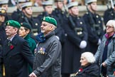 Remembrance Sunday at the Cenotaph 2015: Group B36, Intelligence Corps Association. Cenotaph, Whitehall, London SW1, London, Greater London, United Kingdom, on 08 November 2015 at 11:43, image #279