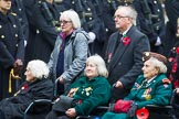Remembrance Sunday at the Cenotaph 2015: Group B37, Women's Royal Army Corps Association. Cenotaph, Whitehall, London SW1, London, Greater London, United Kingdom, on 08 November 2015 at 11:43, image #280
