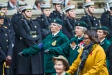 Remembrance Sunday at the Cenotaph 2015: Group B37, Women's Royal Army Corps Association. Cenotaph, Whitehall, London SW1, London, Greater London, United Kingdom, on 08 November 2015 at 11:43, image #284