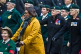 Remembrance Sunday at the Cenotaph 2015: Group B37, Women's Royal Army Corps Association. Cenotaph, Whitehall, London SW1, London, Greater London, United Kingdom, on 08 November 2015 at 11:43, image #285