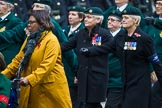 Remembrance Sunday at the Cenotaph 2015: Group B37, Women's Royal Army Corps Association. Cenotaph, Whitehall, London SW1, London, Greater London, United Kingdom, on 08 November 2015 at 11:43, image #286