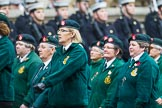 Remembrance Sunday at the Cenotaph 2015: Group B37, Women's Royal Army Corps Association. Cenotaph, Whitehall, London SW1, London, Greater London, United Kingdom, on 08 November 2015 at 11:43, image #288