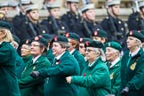 Remembrance Sunday at the Cenotaph 2015: Group B37, Women's Royal Army Corps Association. Cenotaph, Whitehall, London SW1, London, Greater London, United Kingdom, on 08 November 2015 at 11:43, image #289