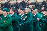 Remembrance Sunday at the Cenotaph 2015: Group B37, Women's Royal Army Corps Association. Cenotaph, Whitehall, London SW1, London, Greater London, United Kingdom, on 08 November 2015 at 11:43, image #291