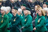 Remembrance Sunday at the Cenotaph 2015: Group B37, Women's Royal Army Corps Association. Cenotaph, Whitehall, London SW1, London, Greater London, United Kingdom, on 08 November 2015 at 11:43, image #294