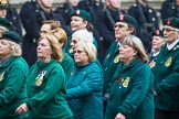 Remembrance Sunday at the Cenotaph 2015: Group B37, Women's Royal Army Corps Association. Cenotaph, Whitehall, London SW1, London, Greater London, United Kingdom, on 08 November 2015 at 11:43, image #295