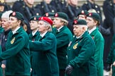 Remembrance Sunday at the Cenotaph 2015: Group B37, Women's Royal Army Corps Association. Cenotaph, Whitehall, London SW1, London, Greater London, United Kingdom, on 08 November 2015 at 11:43, image #298