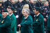 Remembrance Sunday at the Cenotaph 2015: Group B37, Women's Royal Army Corps Association. Cenotaph, Whitehall, London SW1, London, Greater London, United Kingdom, on 08 November 2015 at 11:43, image #299