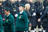 Remembrance Sunday at the Cenotaph 2015: Group B37, Women's Royal Army Corps Association. Cenotaph, Whitehall, London SW1, London, Greater London, United Kingdom, on 08 November 2015 at 11:43, image #300
