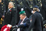 Remembrance Sunday at the Cenotaph 2015: Group B41, British Limbless Ex-Service Men's Association. Cenotaph, Whitehall, London SW1, London, Greater London, United Kingdom, on 08 November 2015 at 11:44, image #322