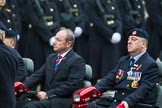 Remembrance Sunday at the Cenotaph 2015: Group B41, British Limbless Ex-Service Men's Association. Cenotaph, Whitehall, London SW1, London, Greater London, United Kingdom, on 08 November 2015 at 11:44, image #323