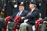 Remembrance Sunday at the Cenotaph 2015: Group B41, British Limbless Ex-Service Men's Association. Cenotaph, Whitehall, London SW1, London, Greater London, United Kingdom, on 08 November 2015 at 11:44, image #329
