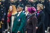 Remembrance Sunday at the Cenotaph 2015: Group B42, British Ex-Services Wheelchair Sports Association. Cenotaph, Whitehall, London SW1, London, Greater London, United Kingdom, on 08 November 2015 at 11:44, image #333