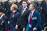 Remembrance Sunday at the Cenotaph 2015: Group B42, British Ex-Services Wheelchair Sports Association. Cenotaph, Whitehall, London SW1, London, Greater London, United Kingdom, on 08 November 2015 at 11:44, image #339