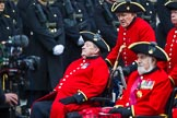 Remembrance Sunday at the Cenotaph 2015: Group B43, Royal Hospital Chelsea. Cenotaph, Whitehall, London SW1, London, Greater London, United Kingdom, on 08 November 2015 at 11:45, image #344